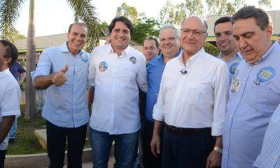 Ataídes acompanha Alckmin em agenda apertada em Gurupi