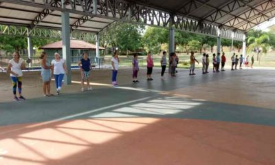 Parque do Idoso lotado marca o retorno das atividades neste mês de agosto