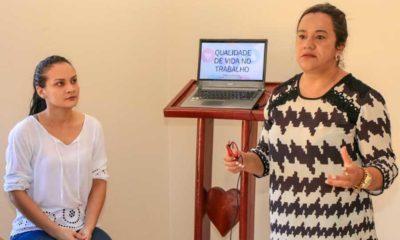 Servidores da casa de Apoio participam de atividades de motivação e autoconhecimento