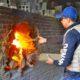 Polícia Civil incinera cerca de 150 kg de entorpecentes em Cerâmica da Capital
